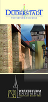 Flyer Westerturm-Ensemble©Stadt Duderstadt