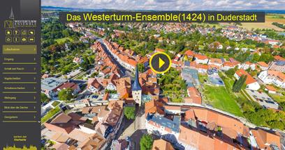 Einstieg Westerturm-Ensemble Rundgang©Stadt Duderstadt/CZ