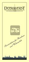 Flyer Servicestation für Reisebusse und Wohnmobile im Downloadformat©Stadt Duderstadt